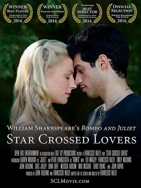 Star Crossed Lovers Romeo and Juliet Poster